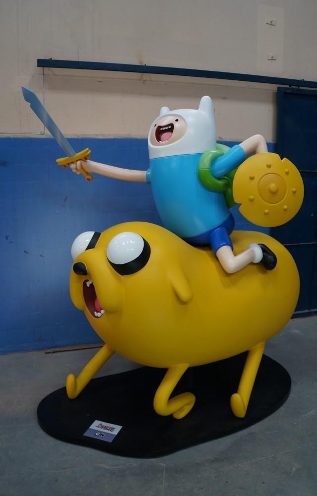 36- Bonecos Adventure Time para ações promocionais da CN  feitos para Turner - 2014 (2)