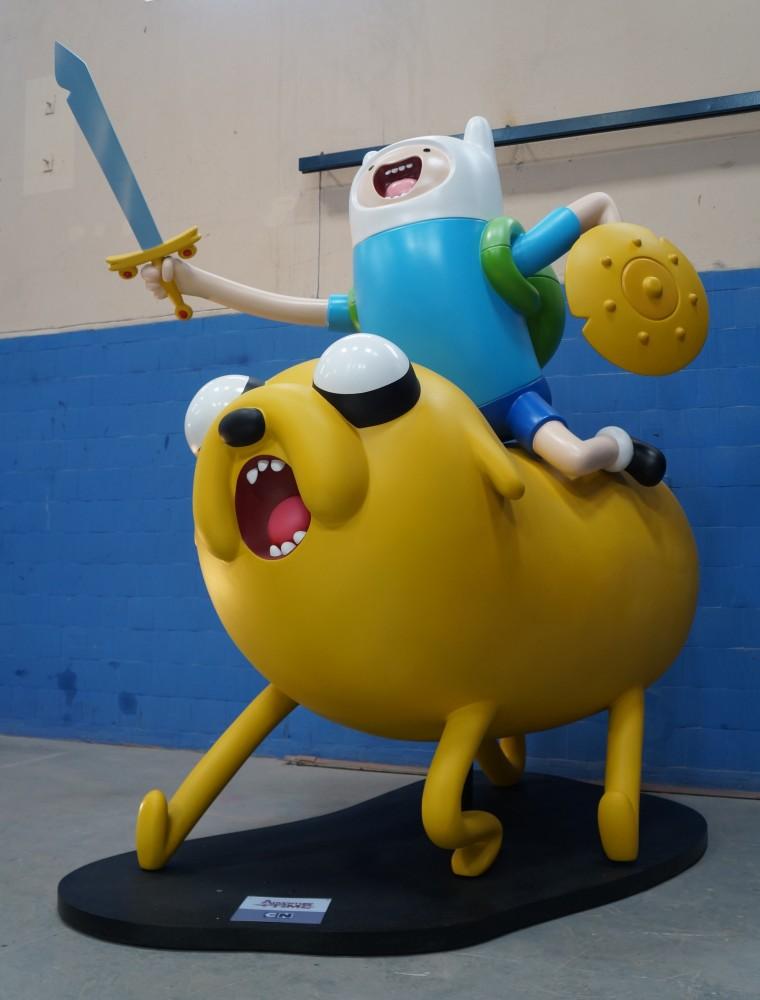 42- Bonecos Adventure Time para ações promocionais da CN  feitos para Turner - 2014 (1)