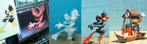 68- Esculturas feitas para o Hopi Hari - 2012