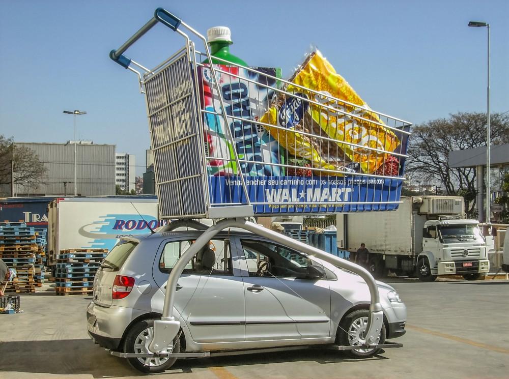 4- Carrinho gigante para inauguração da loja V.Leopoldina - Ag. Innova - 2008