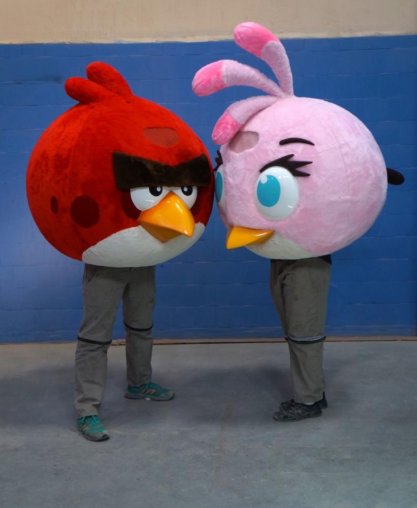 Personagens Angy Birds confeccionados para a TYCOON  360 - 2014 (3)