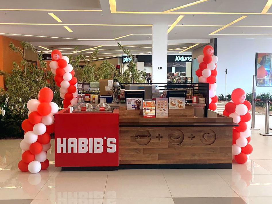 Quiosques para Shopping – Habibi's
